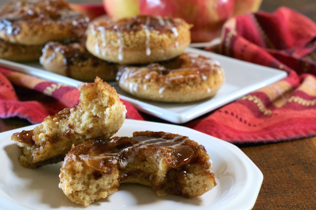 Cinnamon Apple Donuts 2