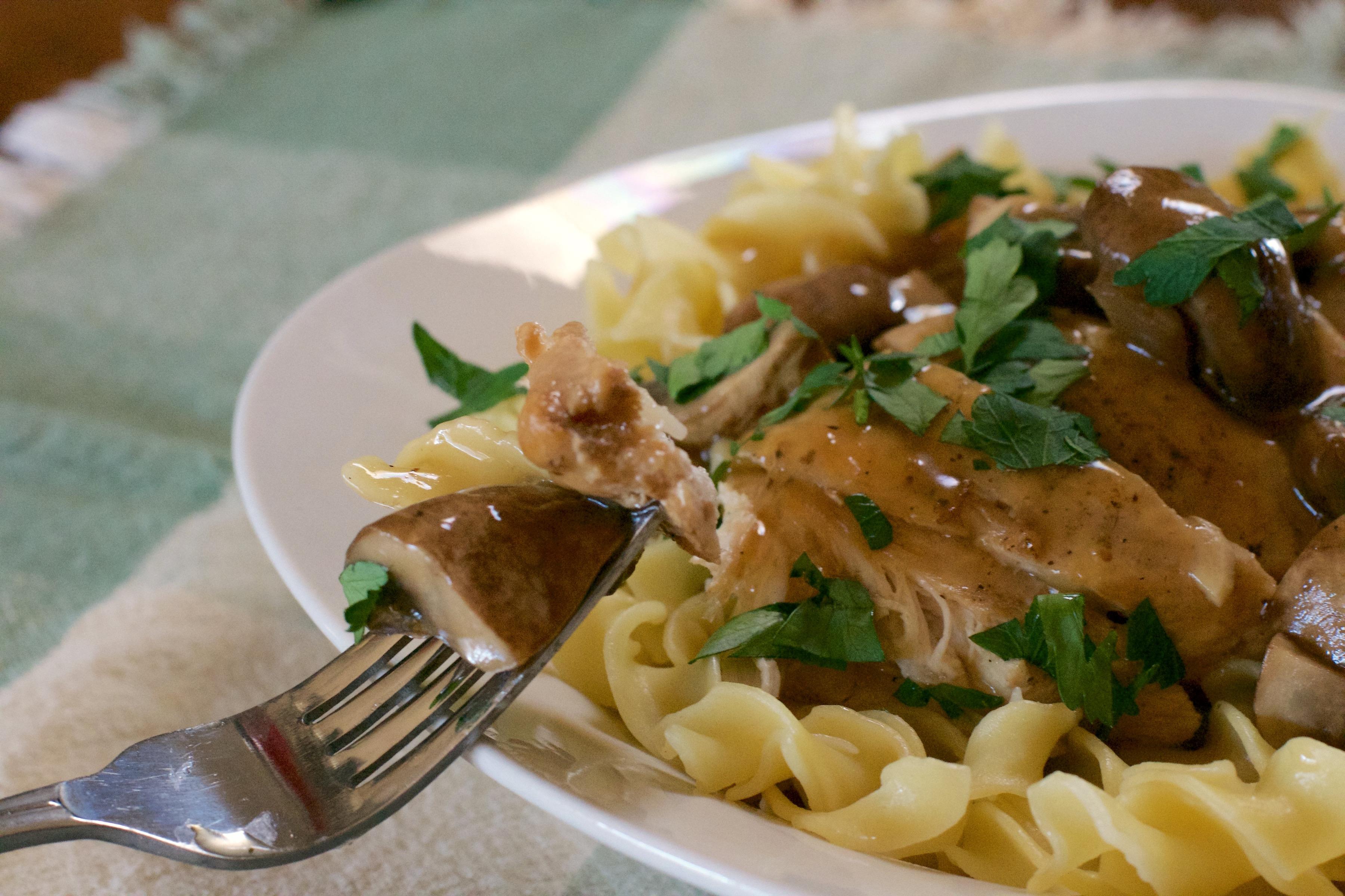 Pressure Cooker Chicken Marsala 9
