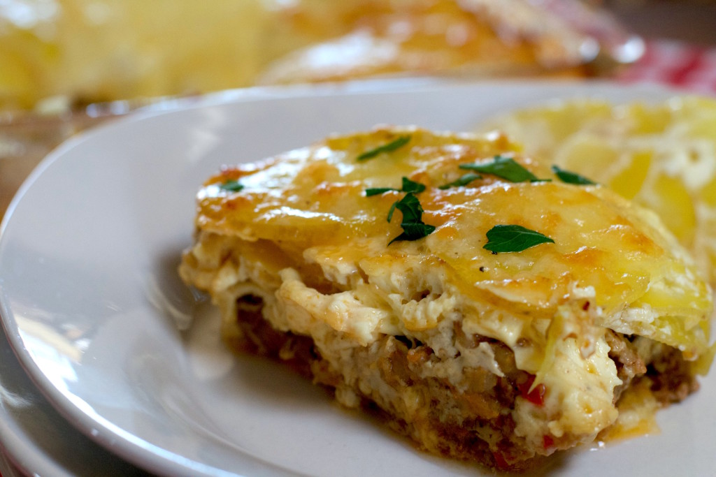 Scalloped Meatloaf Casserole 5