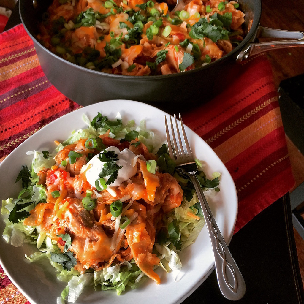 Chicken Enchilada Skillet 2