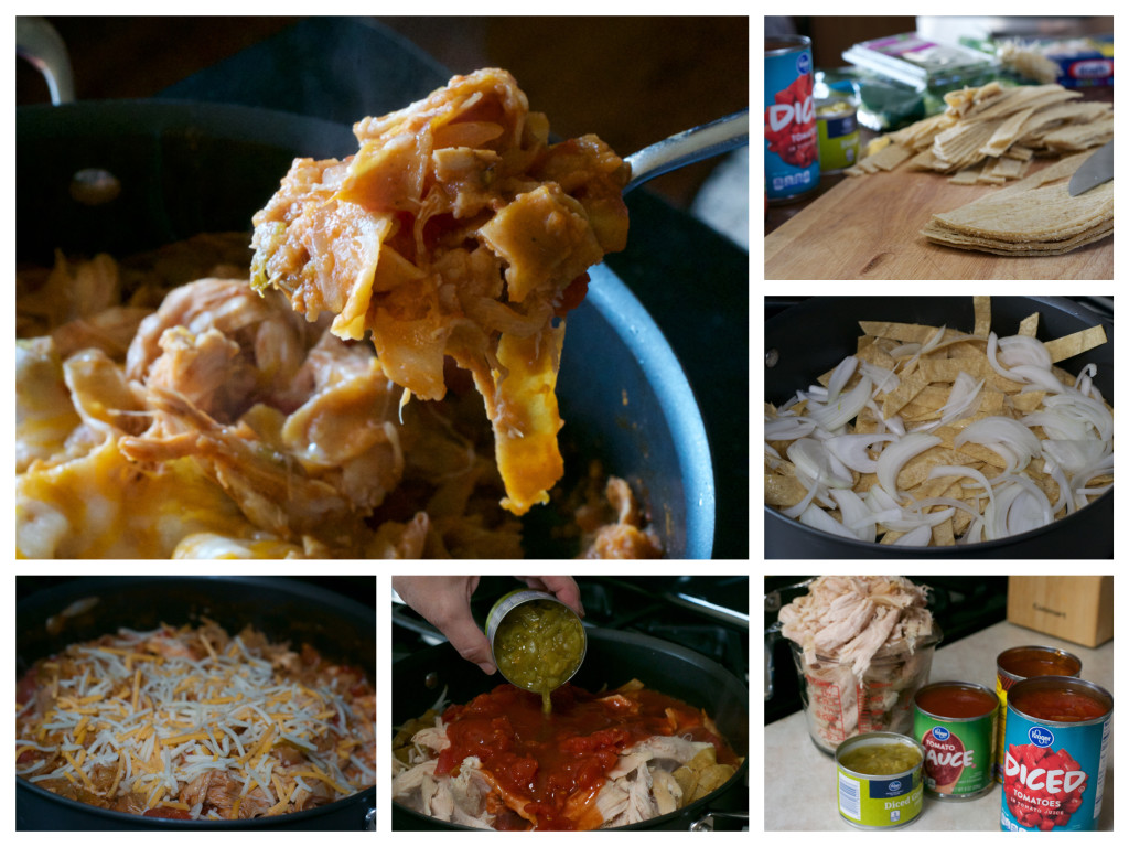 Chicken Enchilada Skillet_Fotor_Collage