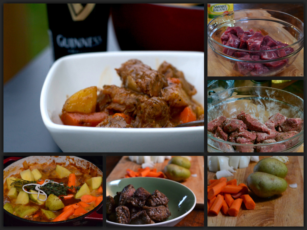 Guinness Beef Stew Collage