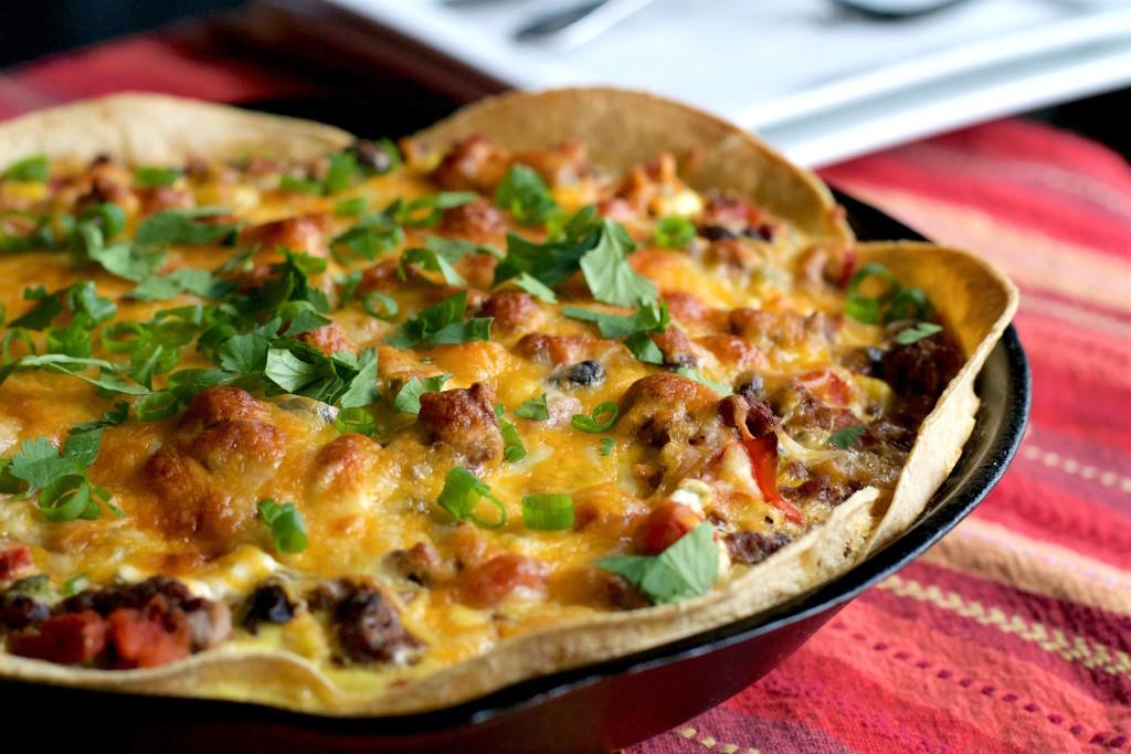 Tex-Mex Taco Pie