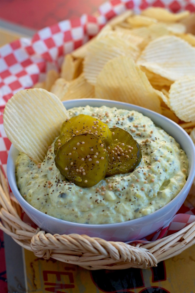 """Bread and Butter Pickle Dip - """"What the """"Forks"""" for Dinner?"""