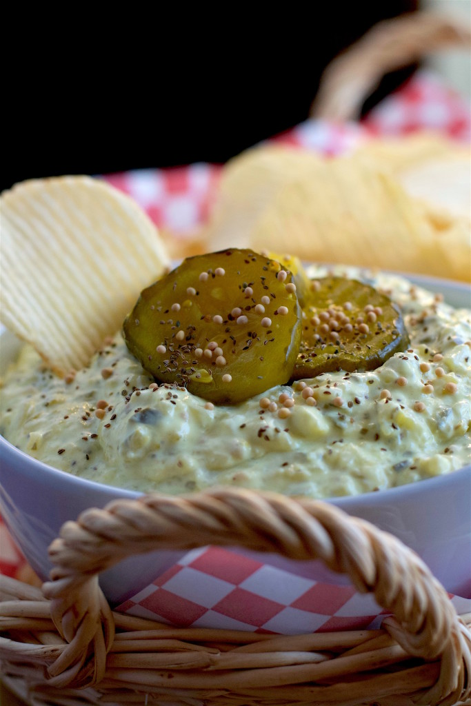 Bread and Butter Pickle Dip 6