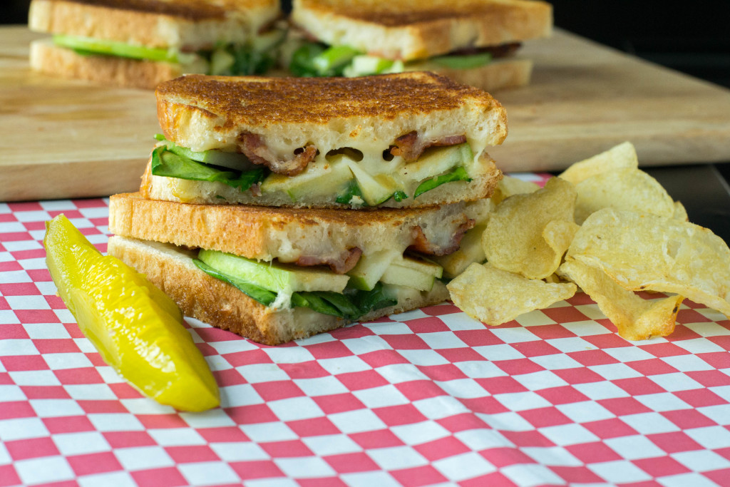 Bacon Apple Grilled Cheese