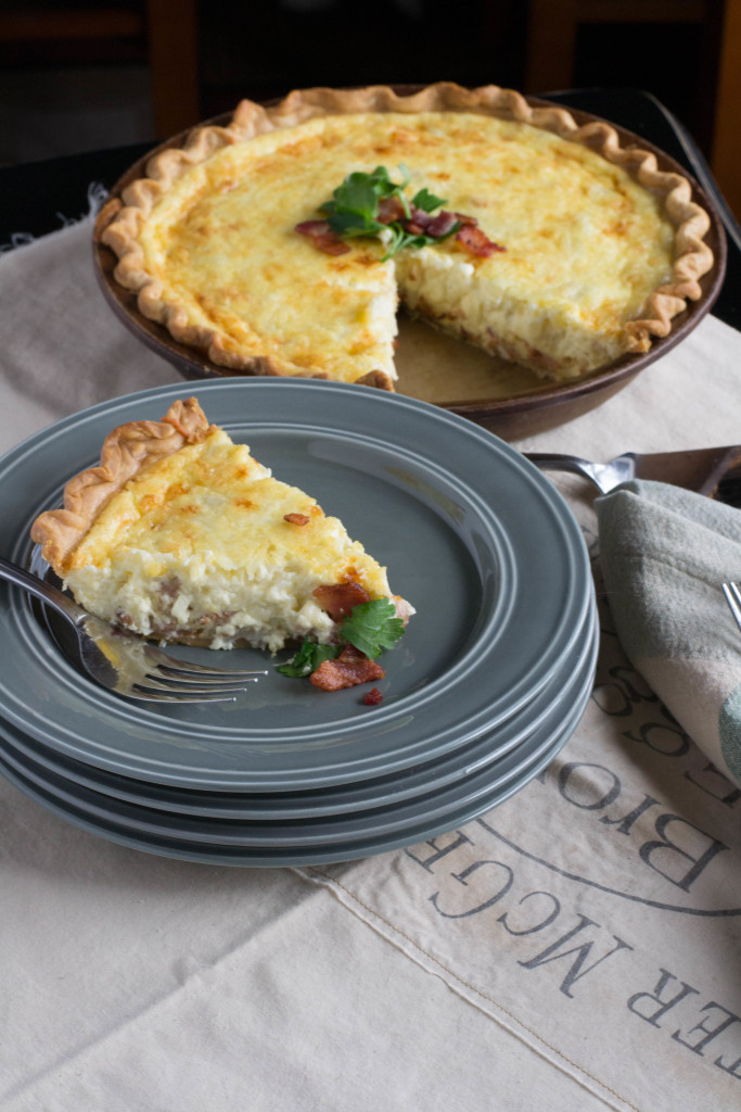 Quiche lorraine what the forks for dinner for Cuisine quiche lorraine