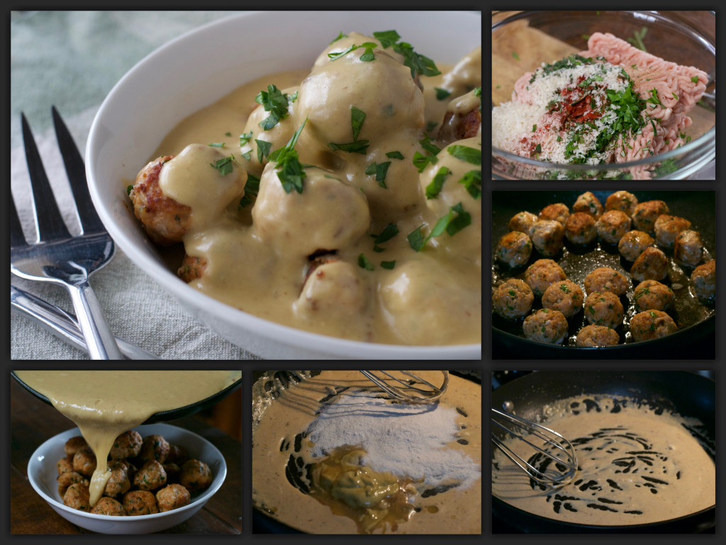 Light Swedish Meatballs Collage