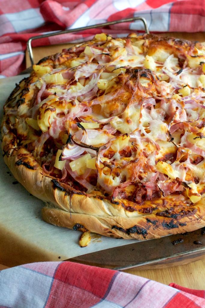 Twisted Hawaiian Pizza