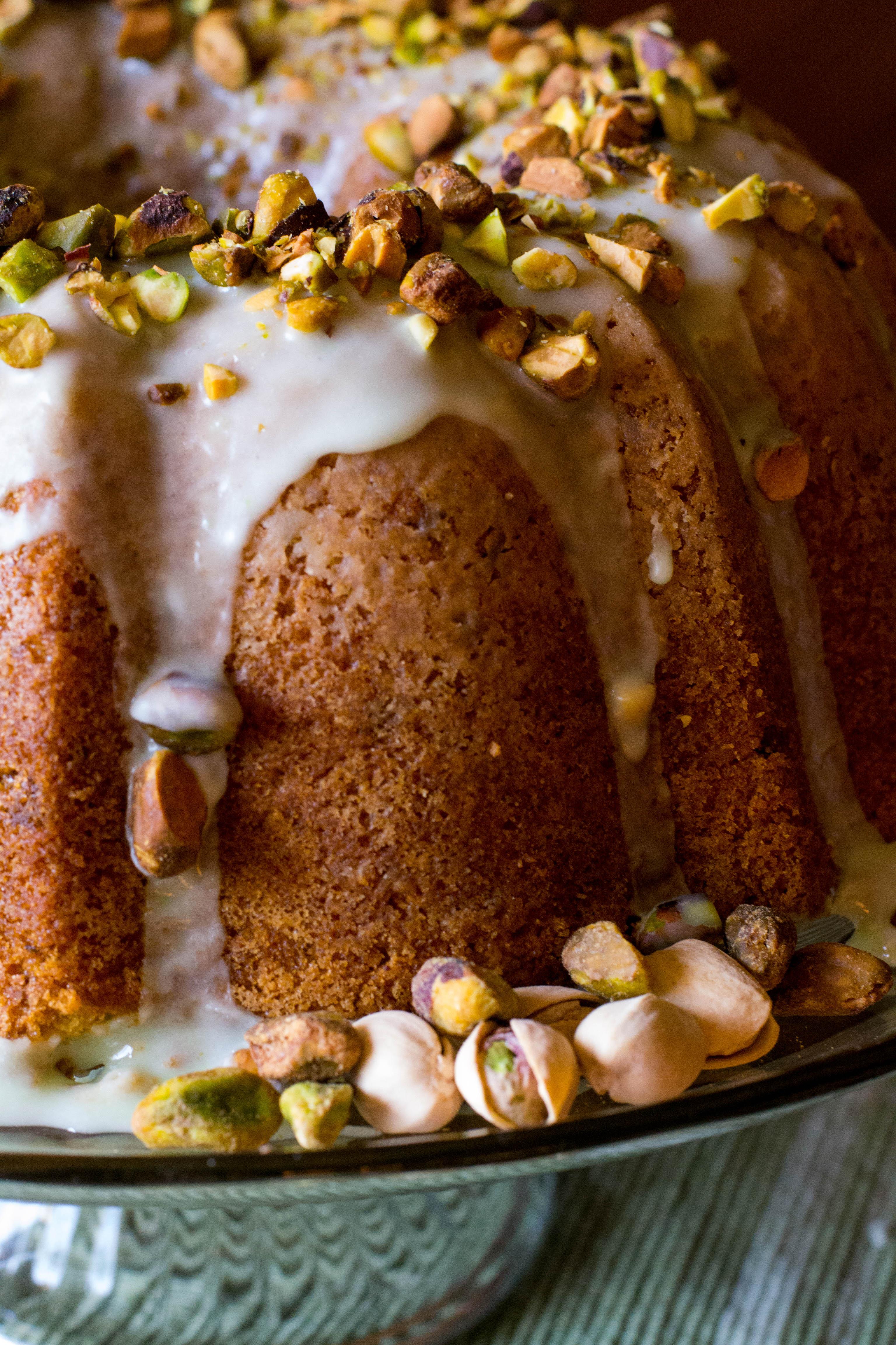 Pistachio Pudding Bundt Cake From Scratch