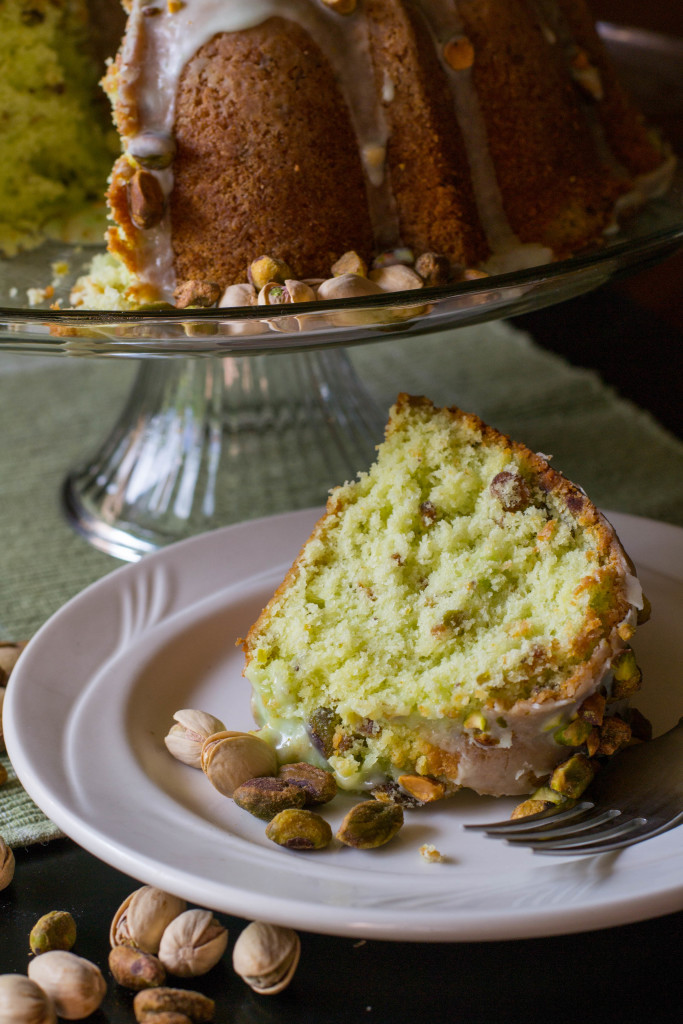 Pistachio Pudding Bundt Cake