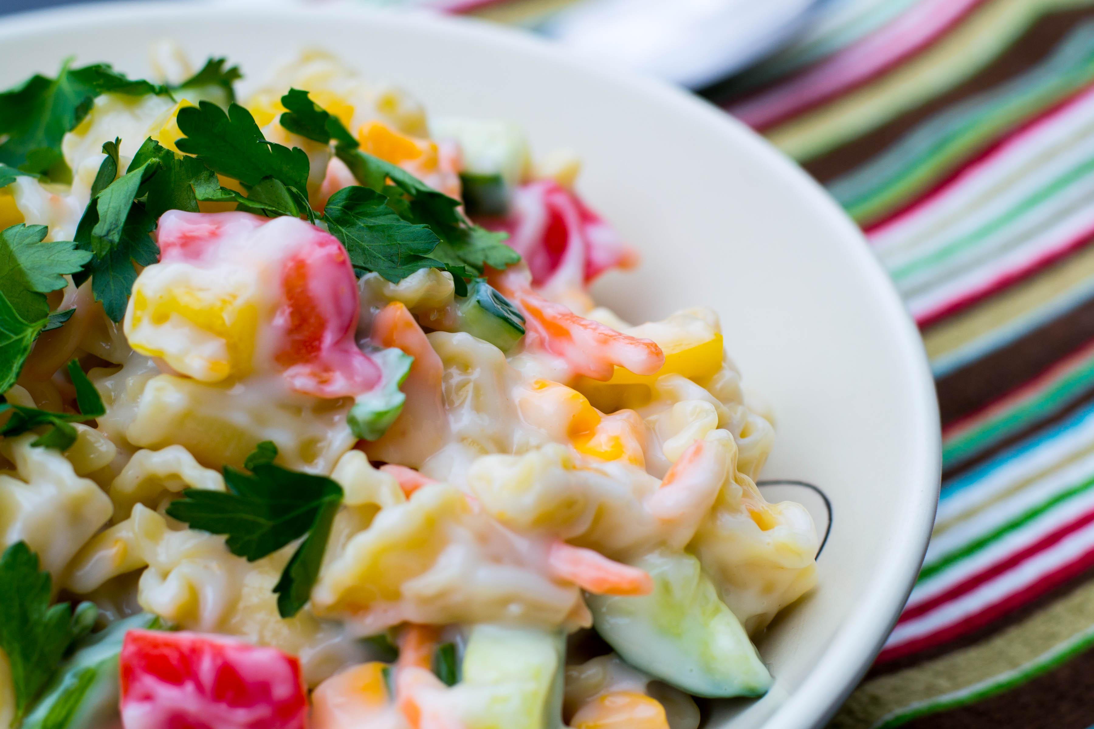 Spring Pasta Salad - What the Forks for Dinner?