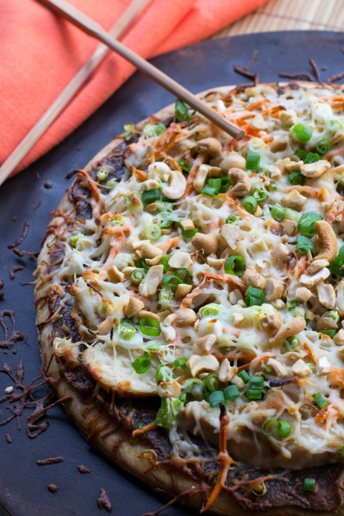 Thai Chicken Pizza