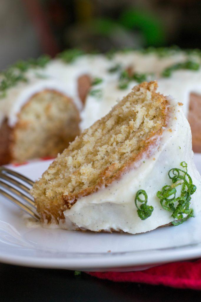 Vanilla Rum Bundt Cake
