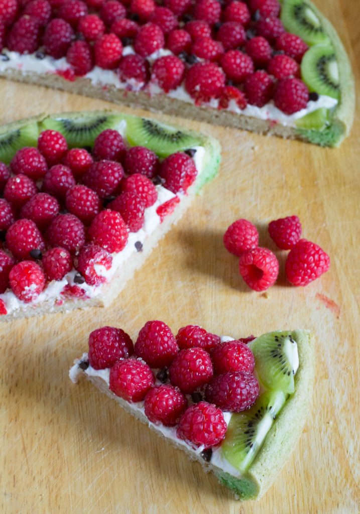 Raspberry Kiwi Fruit Cookie