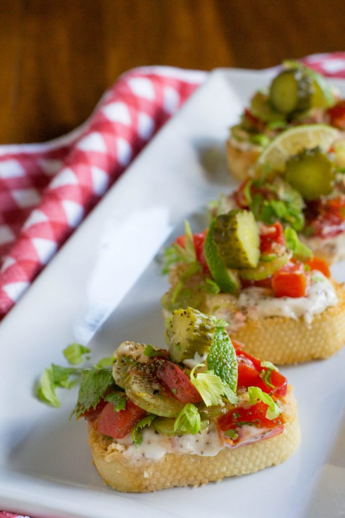 Bloody Mary Bruschetta 4