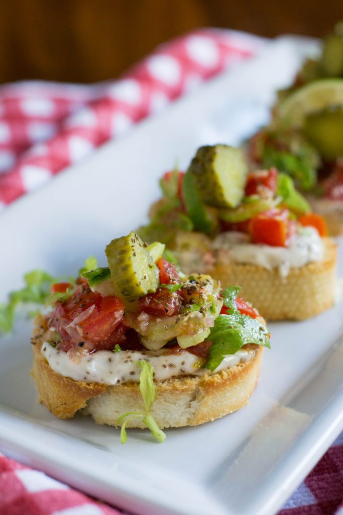 Bloody Mary Bruschetta 5