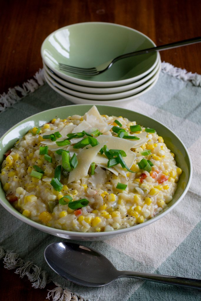 Creamy Sweet Corn Risotto 2