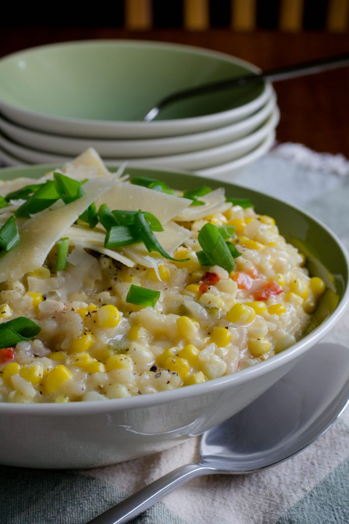 Creamy Sweet Corn Risotto 4