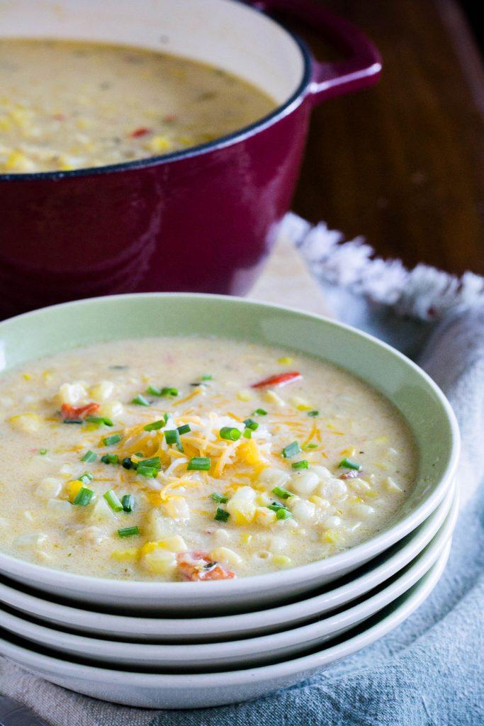 Corn Chowder 5