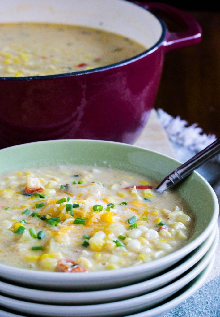 Corn Chowder 7