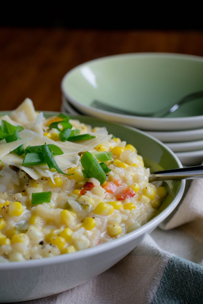 Creamy Sweet Corn Risotto 8