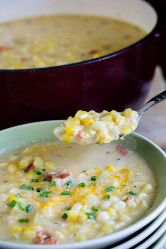Corn Chowder 10