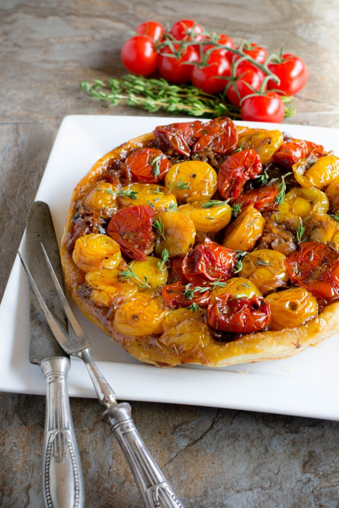 Upside Down Tomato Tart 2