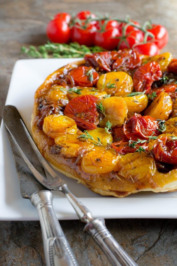 Upside Down Tomato Tart 3