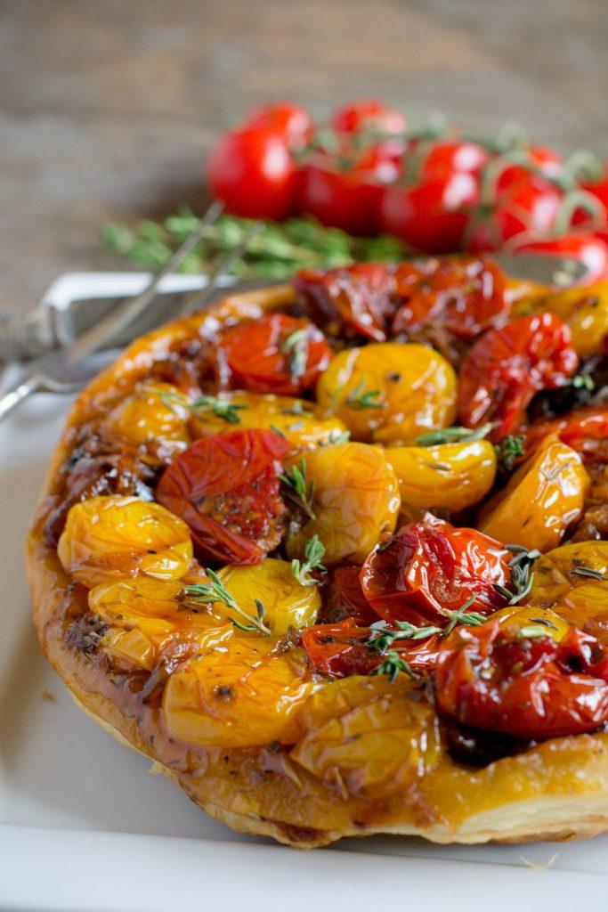Upside Down Tomato Tart 5