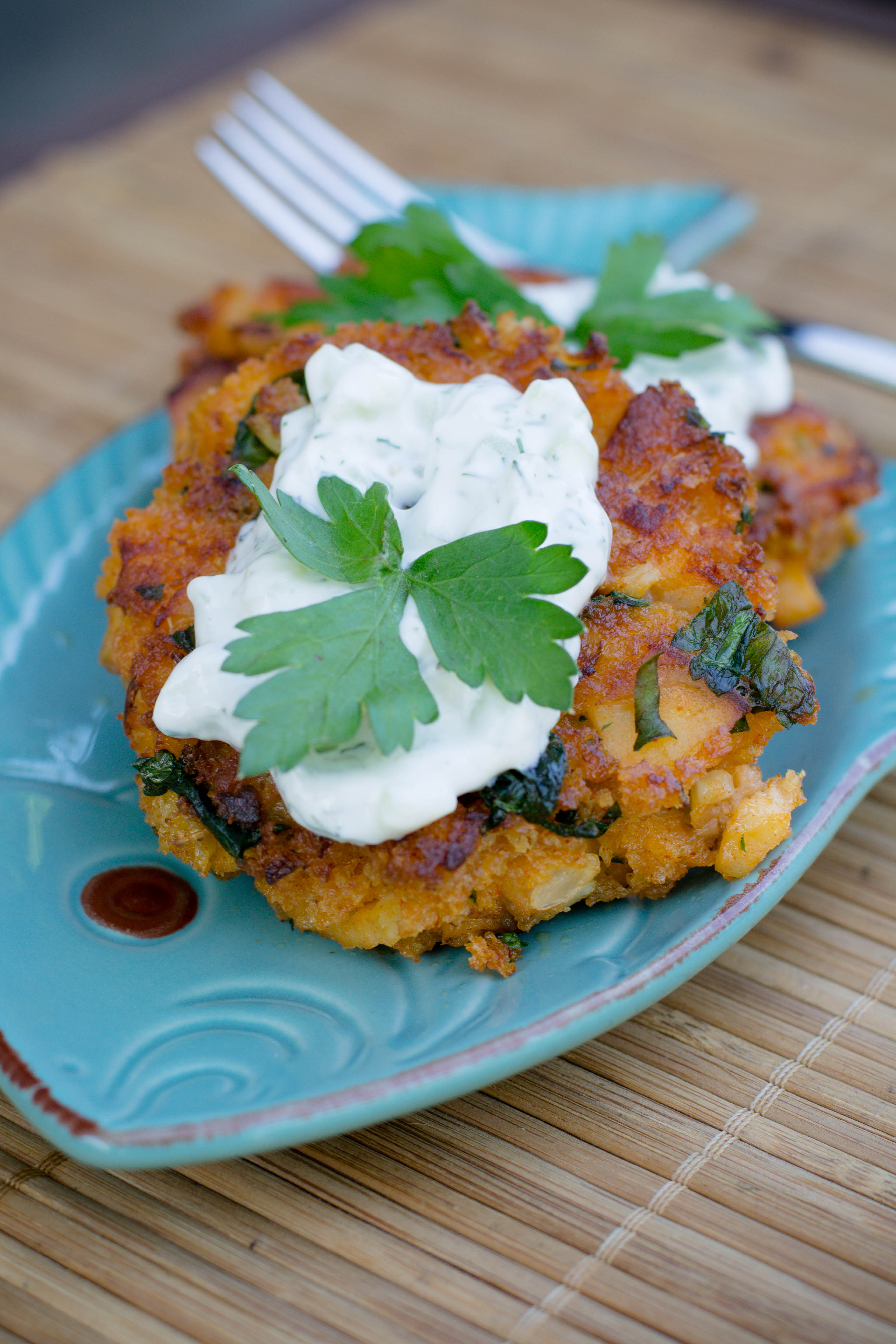 Crispy cod cakes what the forks for dinner for How to make cod fish cakes