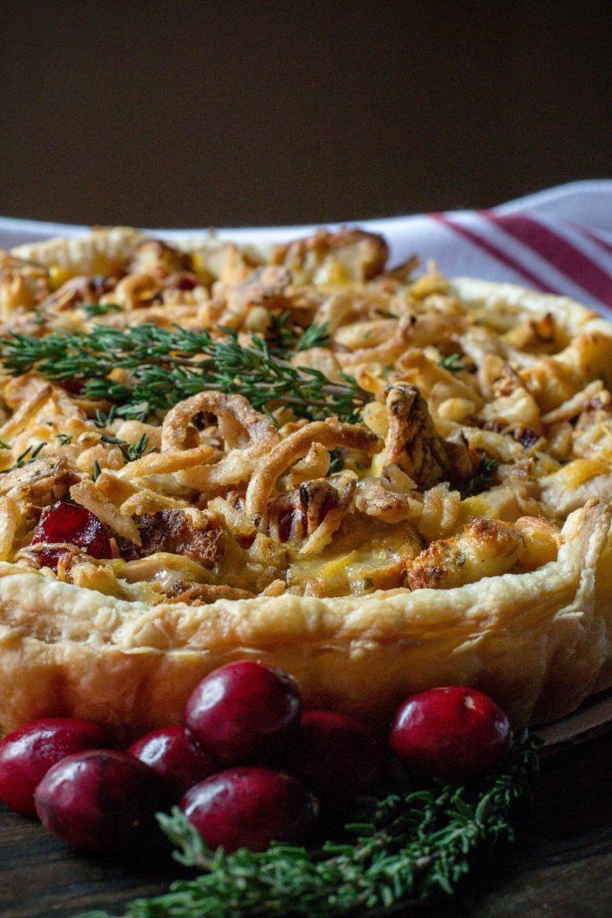 Leftovers Turkey Tart