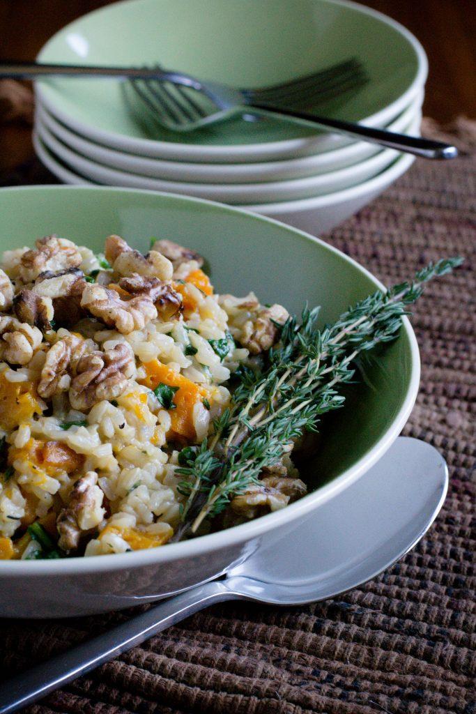 Butternut Squash Brown Rice