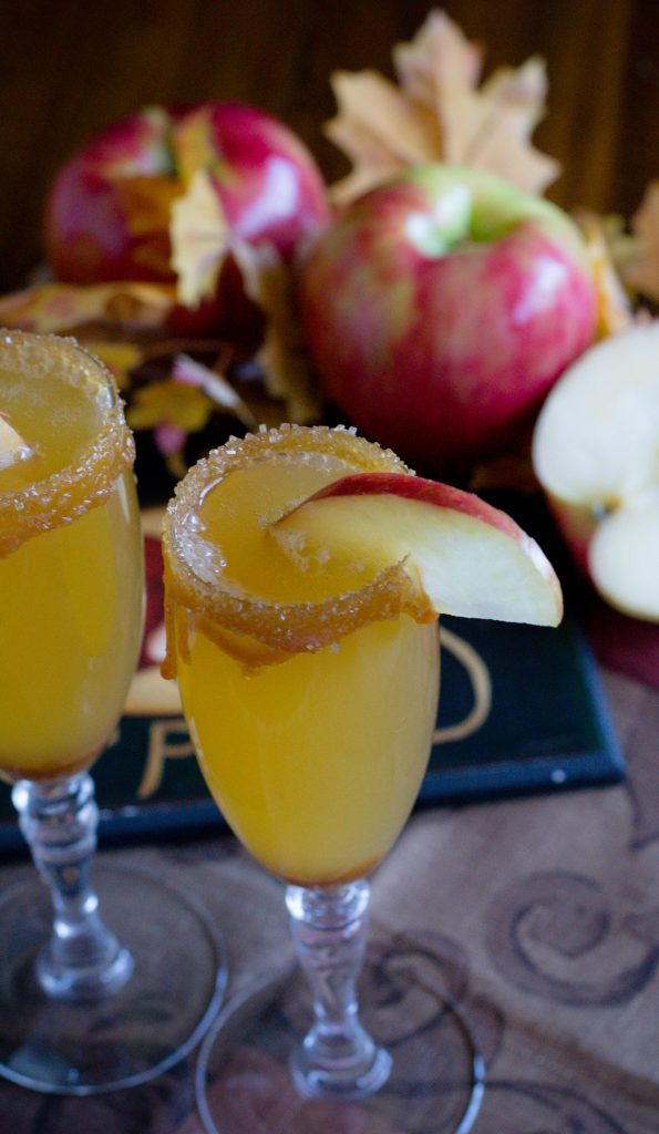 Alcohol Free Caramel Apple Mimosa 7