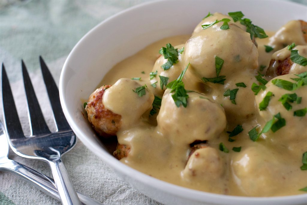 Light Swedish Meatballs