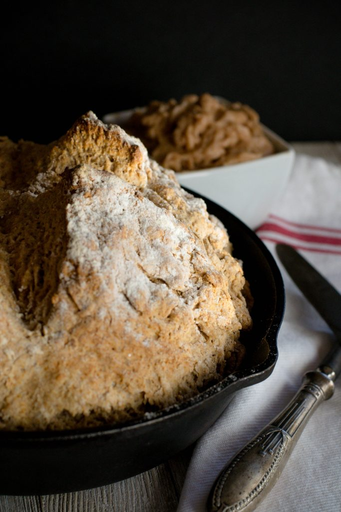 Brown Irish Soda Bread with Honey Butter - What the Forks ...