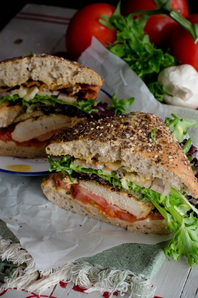 Mojo Grilled Chicken Club Sandwich