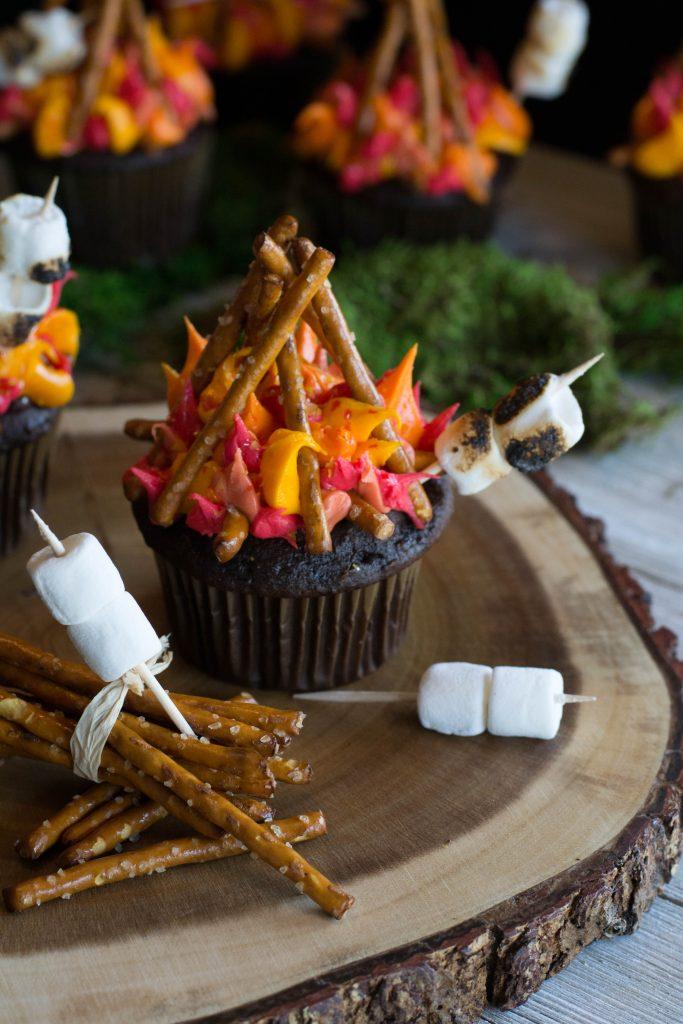 Campfire Cupcakes