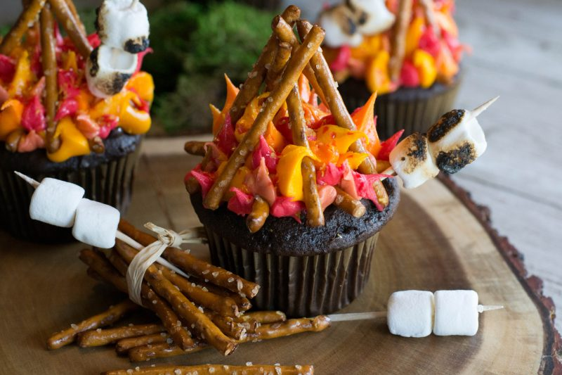 Campfire Cupcakes What The Forks For Dinner