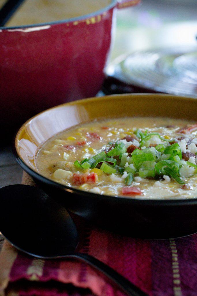 Spicy Sweet Corn Chowder