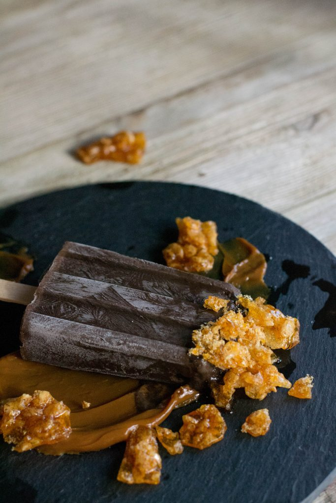 Caramel Fudgesicles