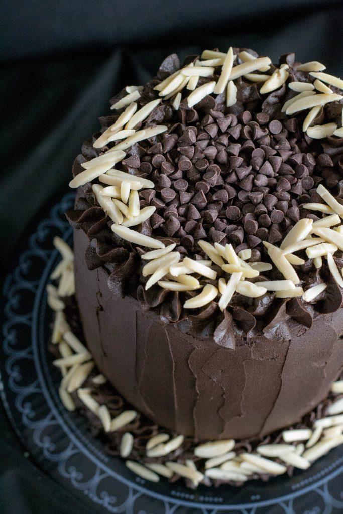 Best Ever Dark Chocolate Cake