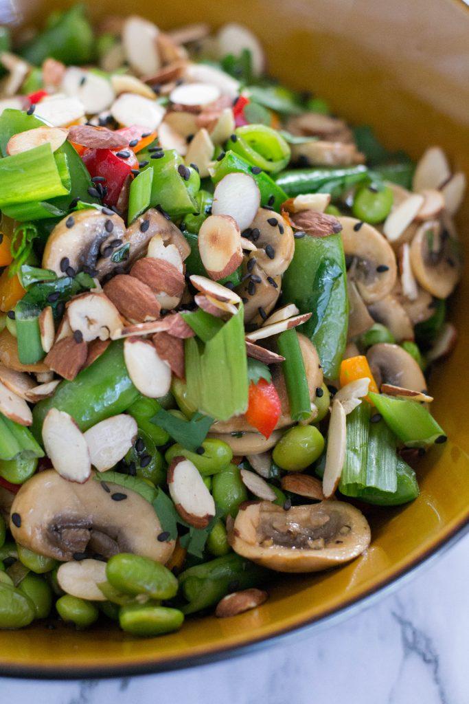 Asian Edamame Salad
