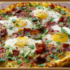 Potato Crusted Breakfast Pizza