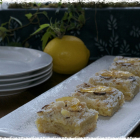Almond Lemon Crumb Bars