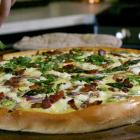Asparagus Goat Cheese Pizza