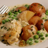 Crockpot Tarragon Leek Chicken