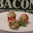 Bacon Filled Cherry Tomatoes