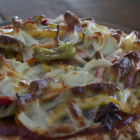 Italian Beef and Pepper Pizza