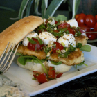 Caprese Chicken Tender Sandwich